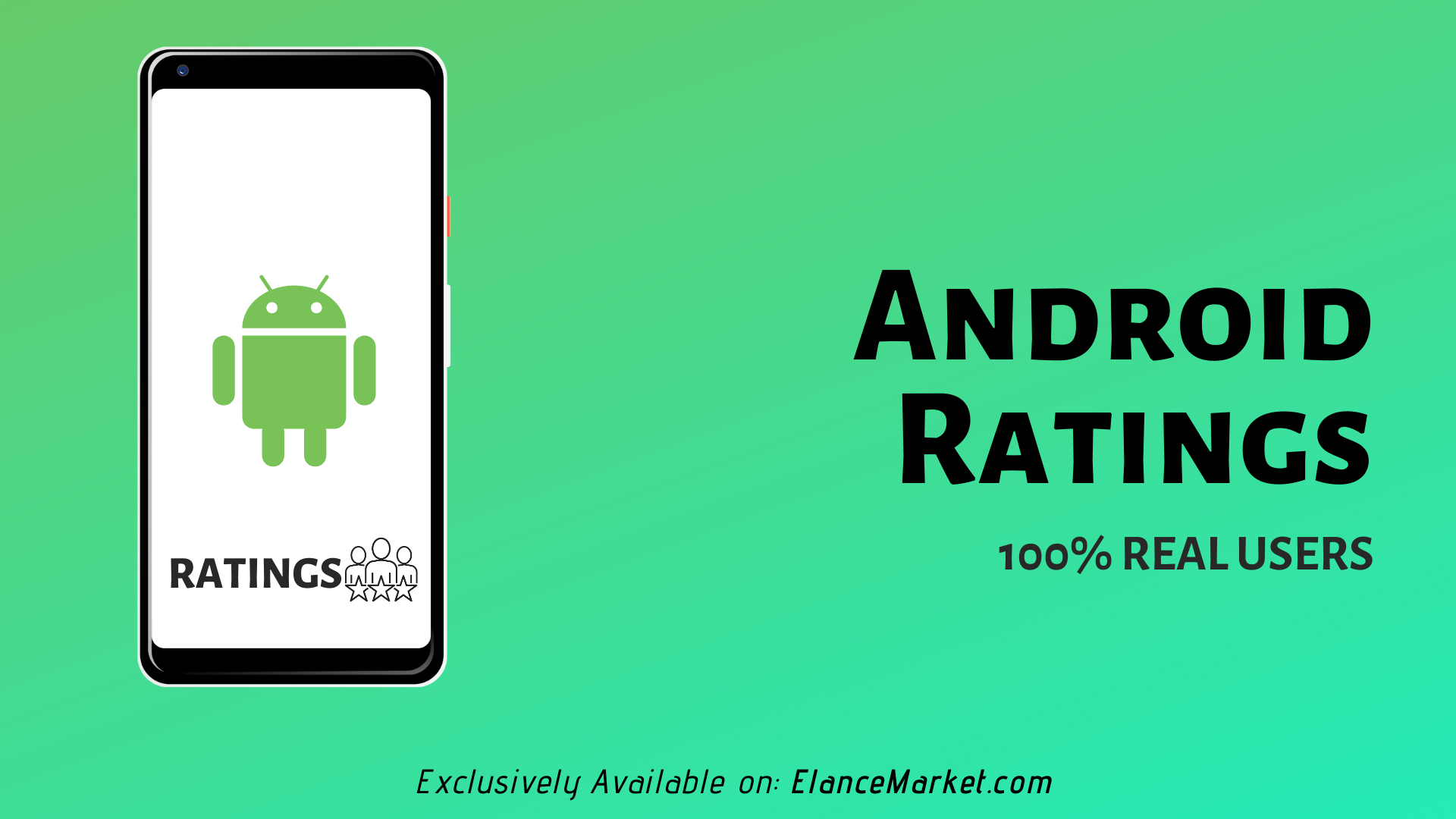 Buy Android Ratings | 100% Real Users