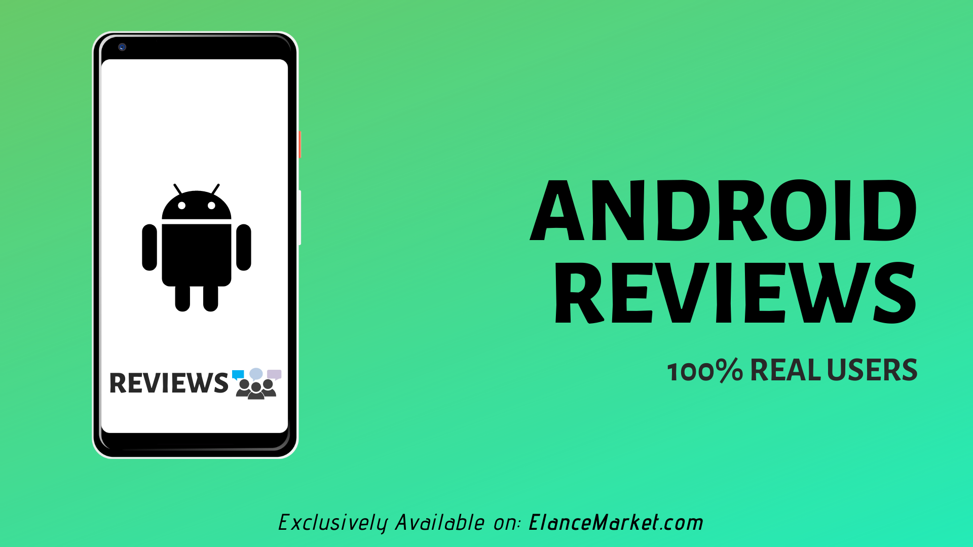 Buy Android Reviews | 100% Real Users