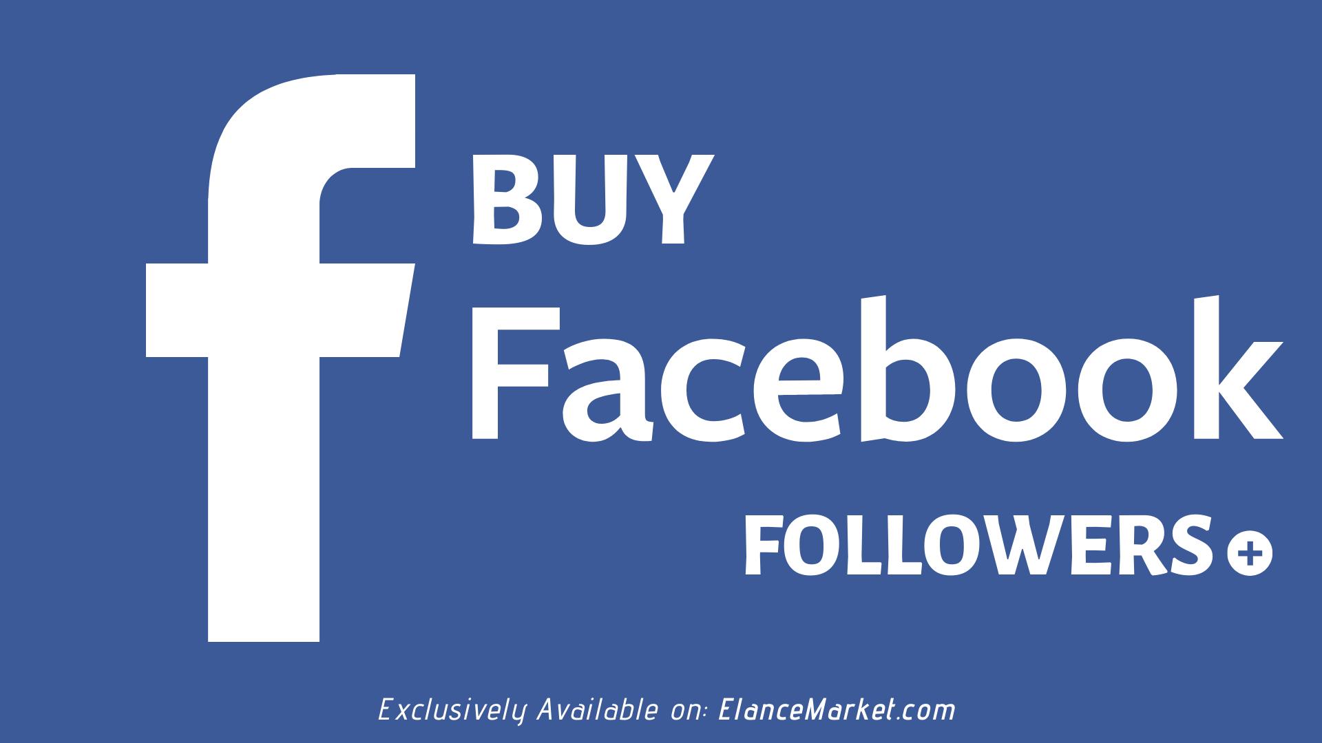 Buy Facebook Followers | Refill Guarantee