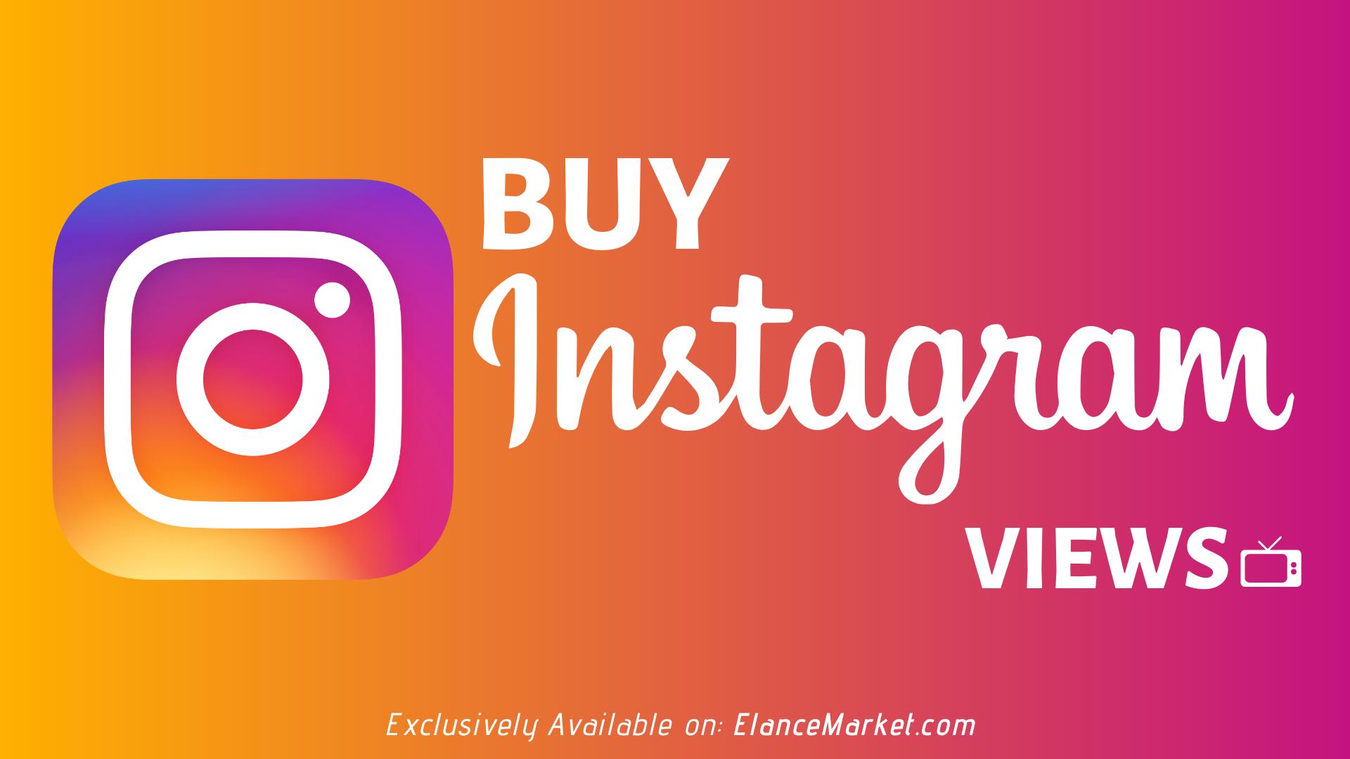Buy Instagram Views | Refill Guarantee
