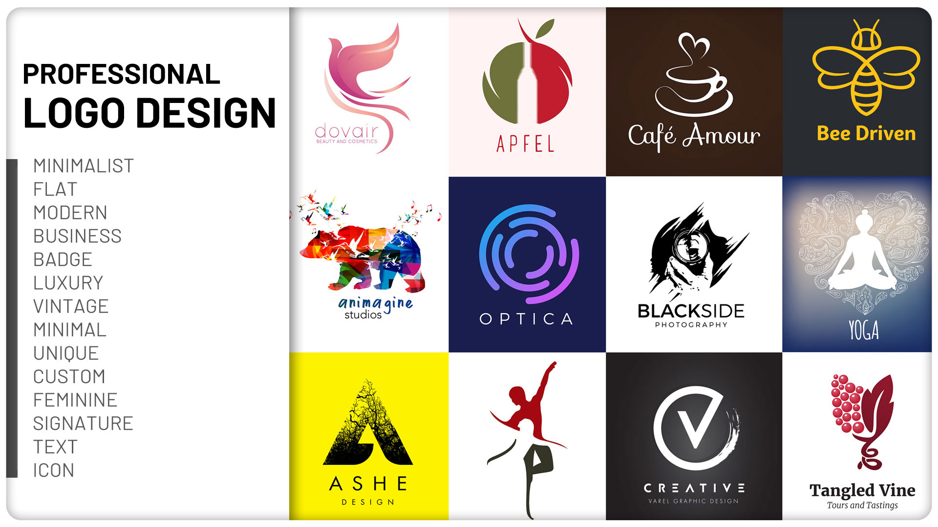 will design 2 creative and professional logo for you in 24 hours